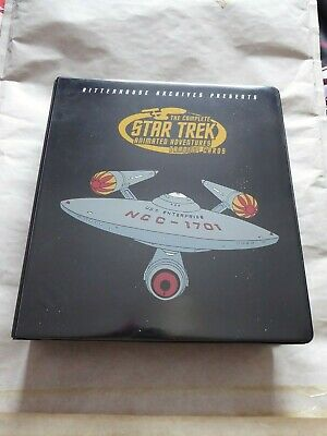 The Complete Star Trek Animated Adventures Trading Card Set