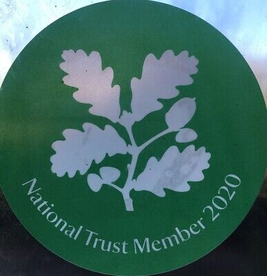 ORIGINAL National Trust Member 2020 Stickers