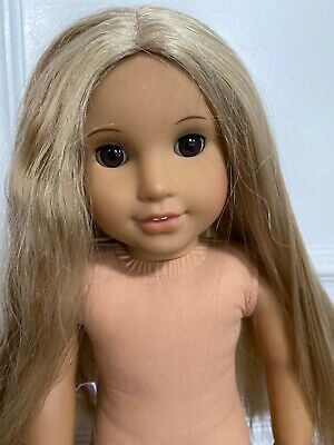 American Girl Doll Julie Albright Blonde Hair Brown Eyes 18""
