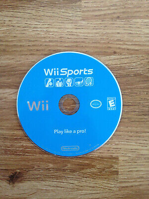 Wii Sports - NTSC / USA - Nintendo Wii Game Disc Only - Boxing, Golf, Bowling