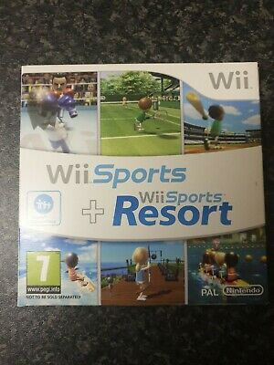 Wii Sports And Wii Sports Resort , 2 popular wii games on 1 disc