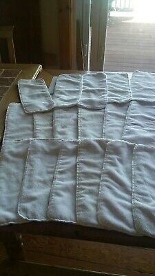 17 Large Microfiber Cloth Diaper Inserts Unbranded