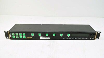 Evertz HD Router Remote PANEL X-0601H-444-PANEL