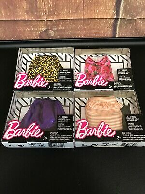 Barbie Complete Fashion Fashionista skirt lot of 4 NEW