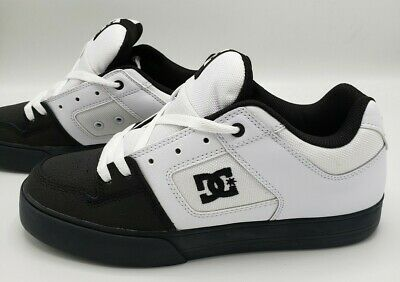 DC Shoes Pure 300660 White Black Men's Skate Sneakers Size 6