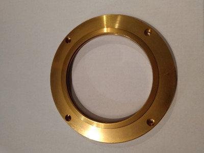 Sealing Plate Makino A77 A88 Spindle Nose Air Seal Gold