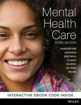 Mental Health Care 3rd Edition An Introduction for Health Professionals 3rd Edit