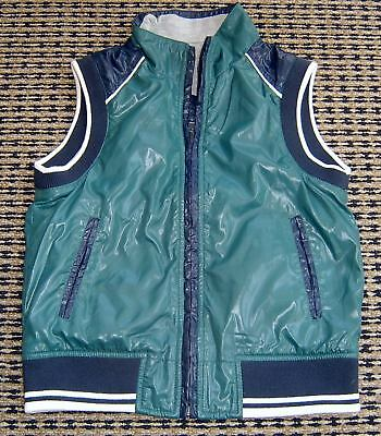 Benetton Boys  Reversible Vest Sz 7 - 8 New Without Tags