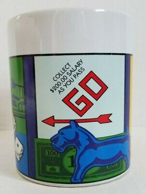 Monopoly Game Coffee Tea Mug Cup Sherwood 2005 Hasbro Collectible Gift