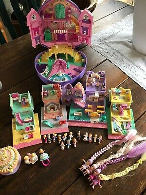 Vintage Polly Pockets 1993-1994 , great condition