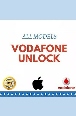 UNLOCK CODE SERVICE FOR Apple iPhone All Model  X XR XS XS MAX Vodafone UK