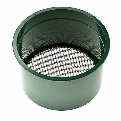 Gold Rush Sifting Classifier Sieve Mini 6 Inch Prospect Pan 10 Holes per Sq Inch