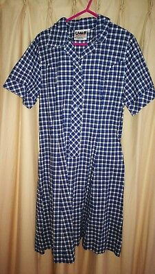 Girls Size 12 School Dress