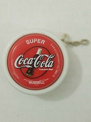 Coca-Cola Yo-Yo GALAXY Gold Russell Coke Spinner Toy 1999 Philippines Original