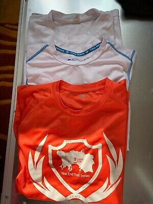 Ladies Running Technical Teeshirts (from Events) Size M Bundle