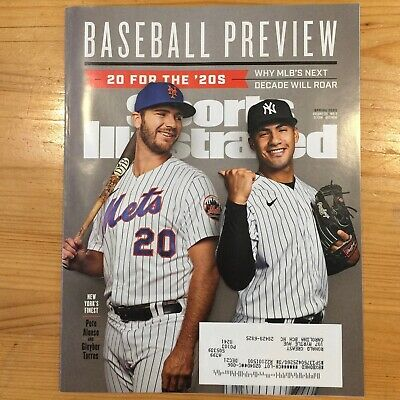 Sports Illustrated Baseball Preview Spring 2020 Pete Alonso Gleyber Torres E756