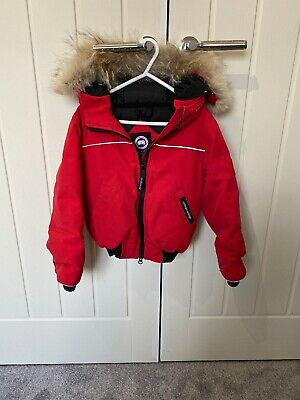 Genuine Red Canada Goose Coat Boys/Girls Age 4-5 See Description