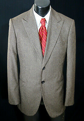 Giorgio Armani Black Label Sport Coat 40R Wool Silk & Cashmere