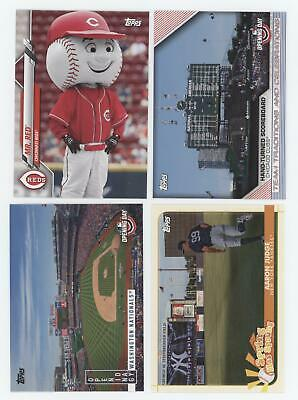 71ct) 2020 Topps Opening Day SPRING HAS SPRUNG/ MASCOTS/ CELEBRATIONS INSERT Lot