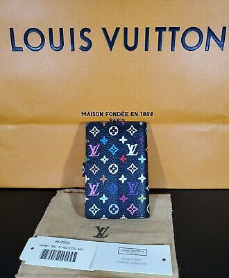 Auth LOUIS VUITTON New Carnet De Bal Mini Agenda Cover Multi-Color M92652
