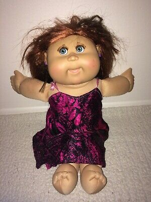 2006 Cabbage Patch Kids Play Along Doll Red Ginger Corn Silk Hair w/ Eyelashes