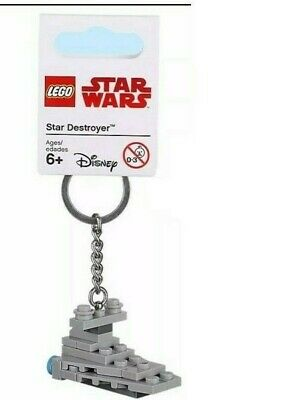 Lego Star Wars 853767 Star Destroyer Keyring Bag Charm Keychain FREE UK P/&P