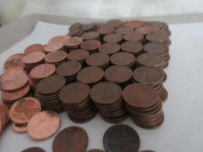 Lot Of Approx 380 1960'S-70'S Pennies, A Lot Are In Excellent Condition, Mmh