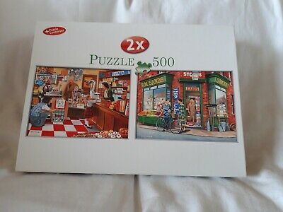 2 x 500 PIECE JIGSAW PUZZLES - ARE YOU BEING SERVED/PUZZLE CONSERVER - V/G/COND.