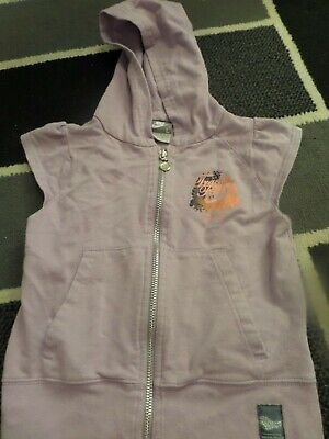 Girls Lilac Nike Zipped Top Size 6-7 Yrs