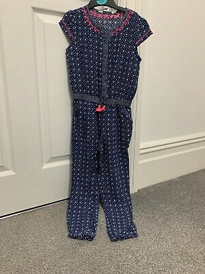 Girls Jumpsuit Blue/white Pattern Age   H & M Worn Once!!!