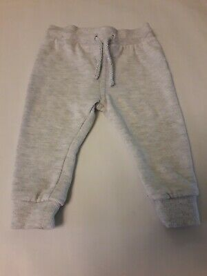 Baby Girls Grey Jogging Bottoms 6-9 Months