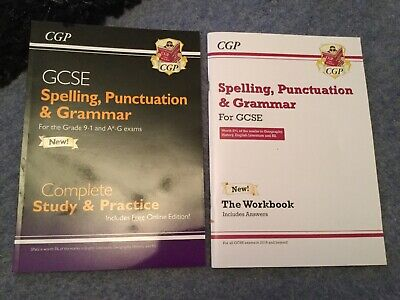 Spelling, Punctuation and Grammar for GCSE, Complete Revision & Practice by CGP