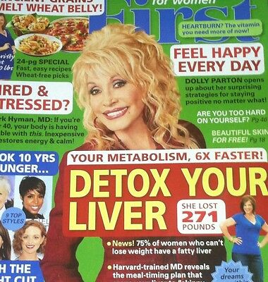 DOLLY PARTON First For Women October 2014