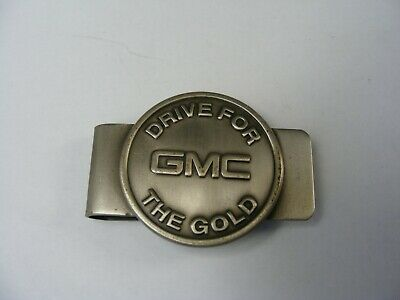 GMC Drive For The Gold Money Clip
