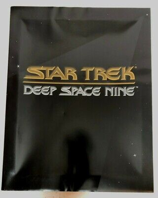 Star Trek Deep Space Nine Bible with Cert. of Authenticity #5325 Vtg 1992