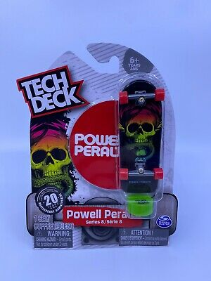 Tech Deck Collector Series Mike McGill Powell Peralta 1981 Black Box 2008 New