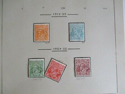 Australian Stamps: Pre Decimal Collection on Pages (u2059)