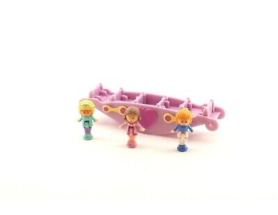 EUC Vintage Polly Pocket 1993 Teeter Totter Pals Seesaw COMPLETE