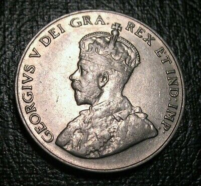 Old Canadian Coins 1924 Canada 5 Cents BEAUTY
