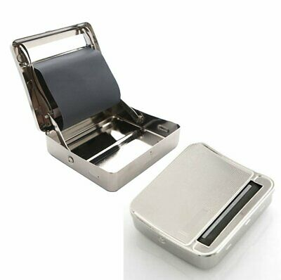Cigarette Case with Automatic Cigarette Rolling Device, Metal Free Postage