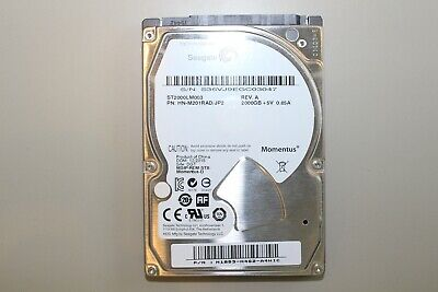 "Seagate 2TB 5400rpm 2.5"" SATA Laptop HDD"