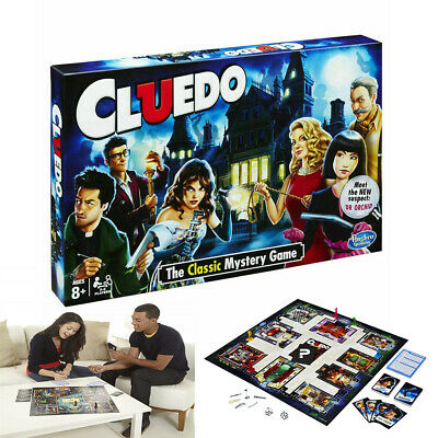 Cluedo The Classic Mystery Board Game Perfect Family Game Best Gifts New 2020