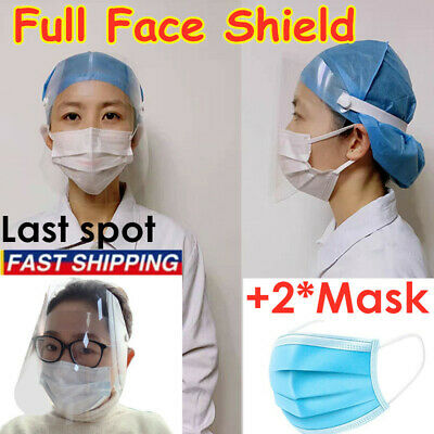 Safe Anti-fog Full Face Shield With Clear Face Transparent Work Industry