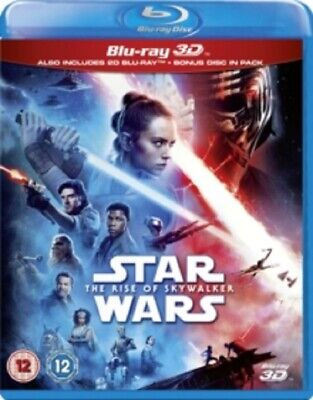 Star Wars The Rise of Skywalker (Daisy Ridley) New 3D + 2D Region B Blu-ray