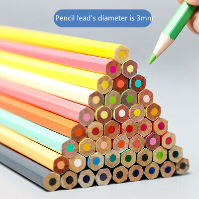 Art Supplies Colored Pencils Set Pre-Sharpened Oil Color Painting for Children