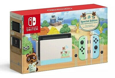 Nintendo Switch Animal Crossing: New Horizons-Edition (Limited Edition)