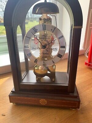 "Sewills of Liverpool (Reproduction) Hermle ""Skeleton"" Clock"