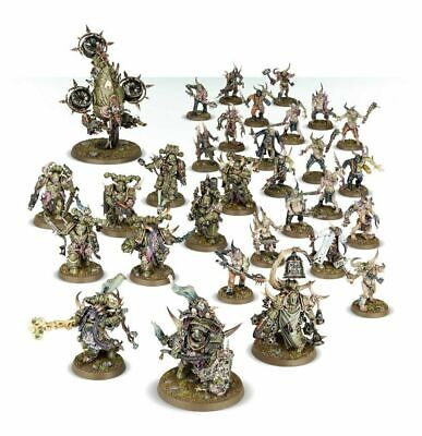 Warhammer 40K Dark Imperium Death Guard Army Half Nurgle Chaos Space Marines GW