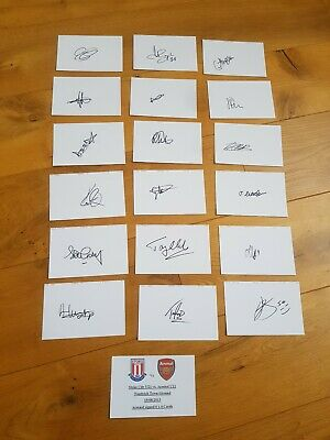 Arsenal Fc Under 21 Autographs