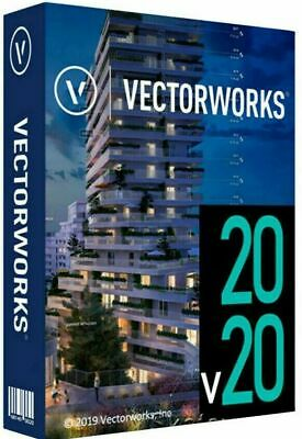✅Vectorworks 2020 | For 2PC 64 Bits or 2 MAC | Download Only | with Key | ESD |